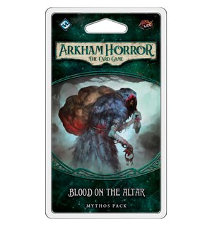 Arkham Horror TCG Blood on the Altar Exp Utvidelse til Arkham Horror Card Game