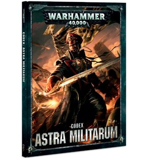 Astra Militarum Codex Warhammer 40K