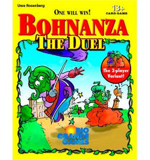 Bohnanza The Duel Kortspill