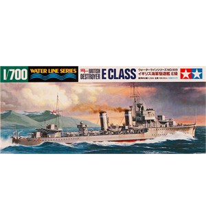 British Destroyer E Class Tamiya 1:700 Byggesett