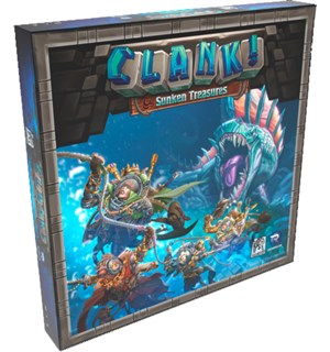 Clank Sunken Treasures Expansion Utvidelse til Clank Kortspill