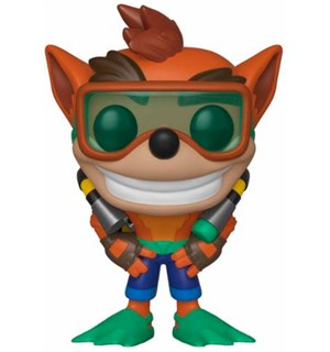Crash Bandicoot POP Figur Crash 9 cm Scuba Edition