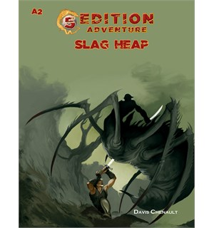 D&D Adventure A2 Slag Heap Dungeons & Dragons Scenario Level 2-4