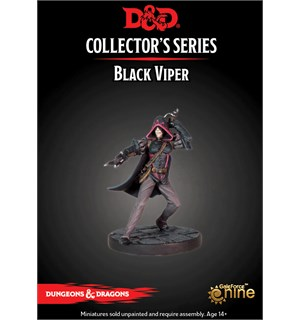 D&D Figur Coll. Series Black Viper Dungeons & Dragons Collectors Series