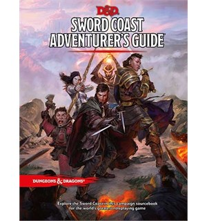 D&D Suppl. Sword Coast Adventurers Guide Dungeons & Dragons Supplement