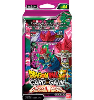 Dragon Ball SCG SP04 Colossal Special Pa Super Card Game - Colossal Warfare
