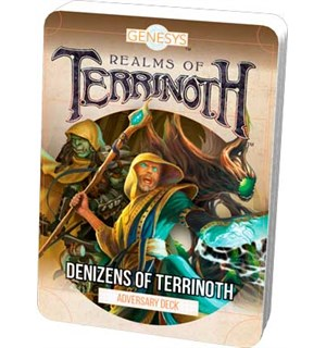 Genesys Terrinoth Denizens of Terrinoth Adversary Deck - Realms of Terrinoth