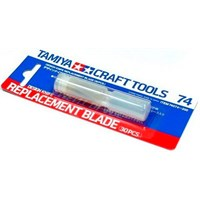 Knivblad Replacement Blade - 30 stk Tamiya