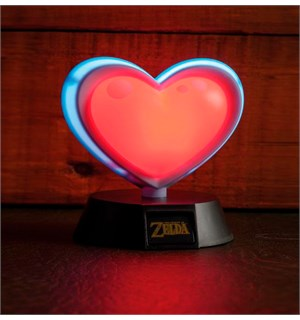 Legend of Zelda 3D Lampe Heart Container