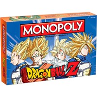 Monopoly Dragon Ball Z Brettspill