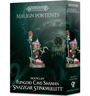 Moonclan Fungoid Cave-Shaman Snazzgar Warhammer Age of Sigmar - Stinkmullett