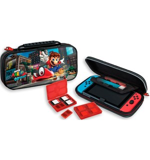 Nintendo Switch Bæreveske Mario Odyssey Game Traveler Deluxe Travel Case