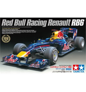Red Bull Racing Renault RB6 Tamiya 1:20 Byggesett