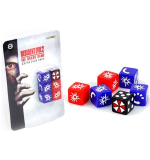 Resident Evil 2 Board Game Terningsett