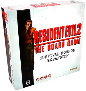 Resident Evil 2 Survival Horror Exp Utvidelse til Resident Evil 2 Board Game