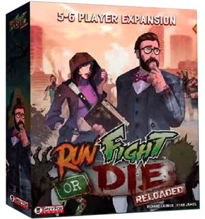 Run Fight or Die Reloaded 5-6 Player Exp Utvidelse til Run Fight or Die Reloaded