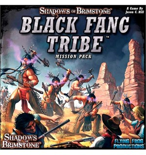 Shadows of Brimstone Black Fang Tribe Utvidelse til Shadows of Brimstone