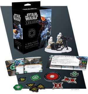 Star Wars Legion E-Web Blaster Team Exp Utvidelse til Star Wars Legion