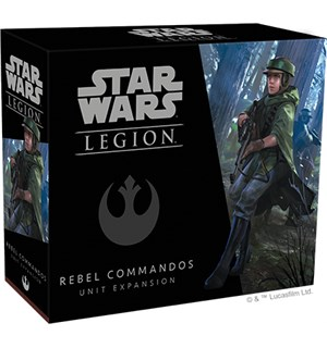 Star Wars Legion Rebel Commandos Exp Utvidelse til Star Wars Legion