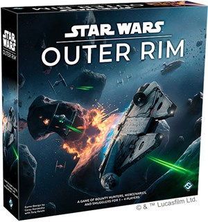 Star Wars Outer Rim Brettspill
