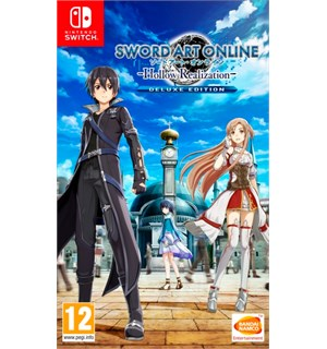 Sword Art Online Hollow Realizati Switch Hollow Realization Deluxe Edition