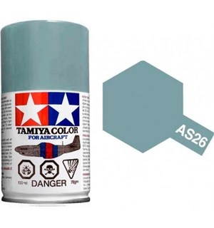 Tamiya Airspray AS-26 Light Ghost Gray Tamiya 86526 - 100ml