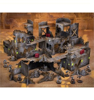 Terrain Crate Ruined City Sci-fi ruiner/bygninger fra Mantic Games