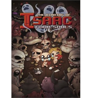 The Binding of Isaac Four Soul Kortspill