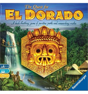 The Quest for El Dorado Brettspill