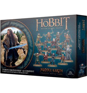 Thorin Oakenshield and Company Middle-Earth Strategy Battle Game