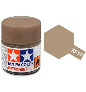 Akrylmaling MINI XF-57 Buff Tamiya 81757 - 10ml