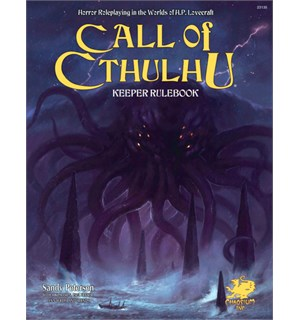 Call of Cthulhu RPG Keeper Rulebook 7th Ed