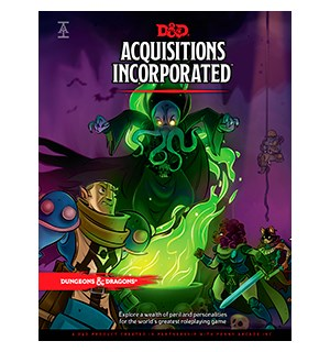 D&D Adventure Acquisitions Incorporated Dungeons & Dragons Scenario Level 1-6