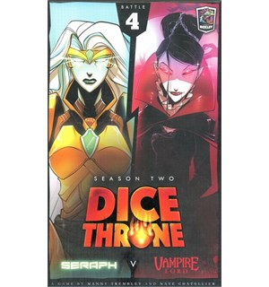 Dice Throne Season 2 Battle Box 4 Seraph vs Vampire Lord