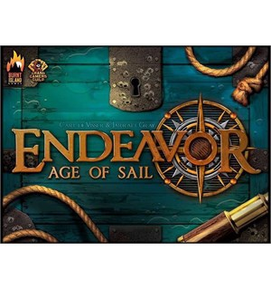 Endeavor Age of Sail Brettspill Second Edition