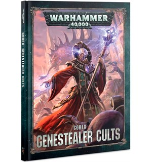 Genestealer Cults Codex Warhammer 40K