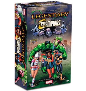 Legendary Marvel Champions Exp Utvidelse til Marvel Legendary