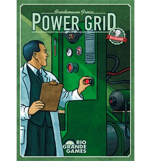 Power Grid Brettspill Norsk Recharged Version