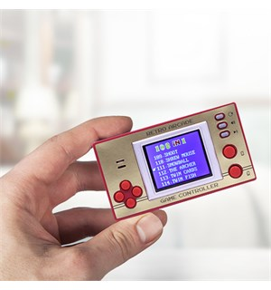 Retro Pocket Games m/ LCD Skjerm Inkludert 150+ 8-Bit Retrospill