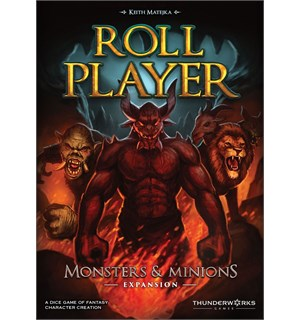 Roll Player Monsters & Minions Expansion Utvidelse til Roll Player