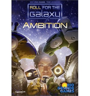 Roll for the Galaxy Ambition Expansion Utvidelse til Roll for the Galaxy