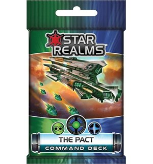 Star Realms The Pact Expansion Command Deck til Star Realms