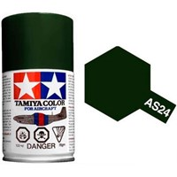 Tamiya Airspray AS-24 Dark Green Tamiya 86524 - 100ml