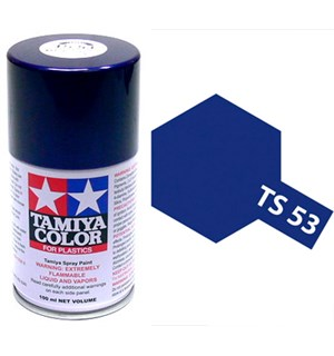 Tamiya Airspray TS-53 Deep Metallic Blue Tamiya 85053 - 100ml
