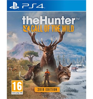 The Hunter Call of the Wild 2019 PS4