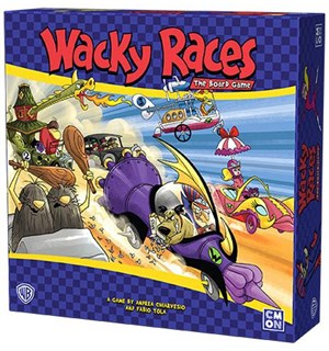 Wacky Races The Board Game Brettspill