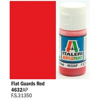 Akrylmaling Flat Guards Red Italeri 4632AP - 20 ml
