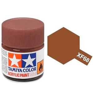 Akrylmaling MINI XF-68 NATO Brown Tamiya 81768 - 10ml