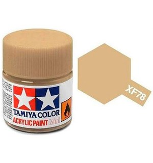 Akrylmaling MINI XF-78 Deck Tan Tamiya 81778 - 10ml