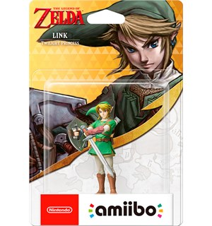 Amiibo Figur Link Twilight Princess The Legend of Zelda Collection